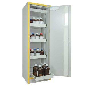 armoire anti feu 3034T4 haute 1 porte 4 tiroirs