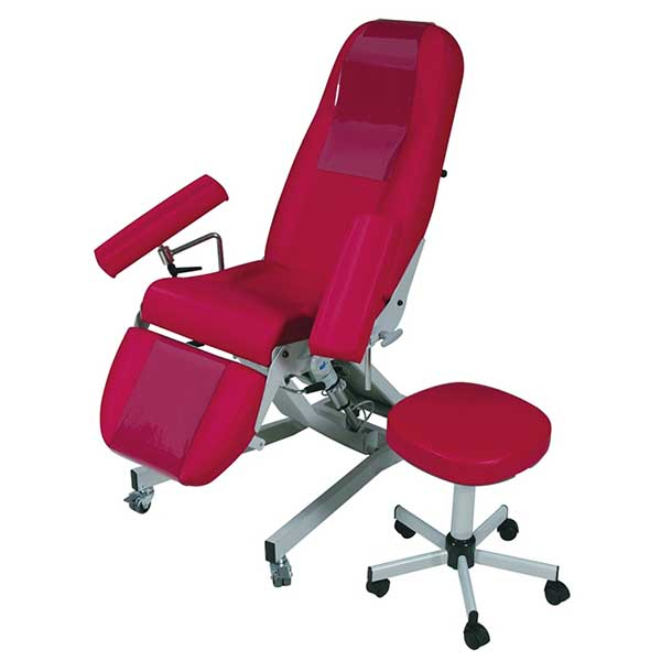 fauteuil-electrique et tabouret ODIL SAS
