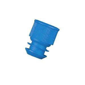 bouchon-à-ailettes-bleu-en-PEBD-diamètre-13,5-mm odil-shop.fr