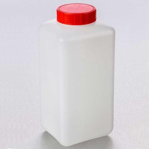 flacon-carré-en-pehd-2-Litres bouchon rouge odil-shop.fr