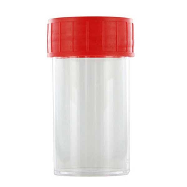 pot-droit-40-ml-PP-Hauteur-70-mm-diametre-30-mm-bouchon-rouge